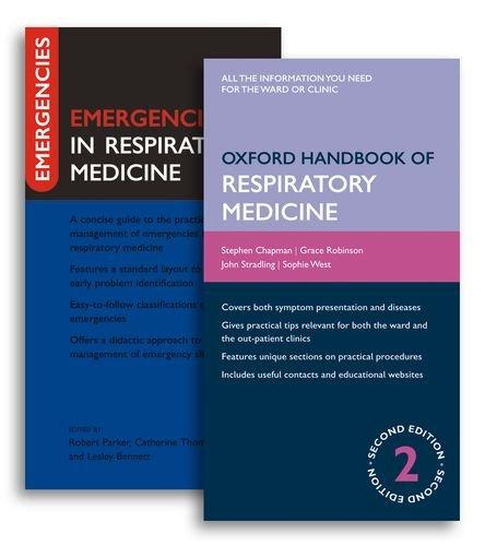 9780199553365: Oxford Handbook of Respiratory Medicine and Emergencies in Respiratory Medicine Pack (Oxford Handbooks Series)