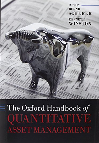 9780199553433: The Oxford Handbook of Quantitative Asset Management (Oxford Handbooks in Finance)