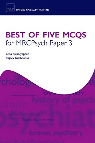 9780199553617: Best of Five MCQs for MRCPsych Paper 3 (Oxford Specialty Training: Revision Texts)