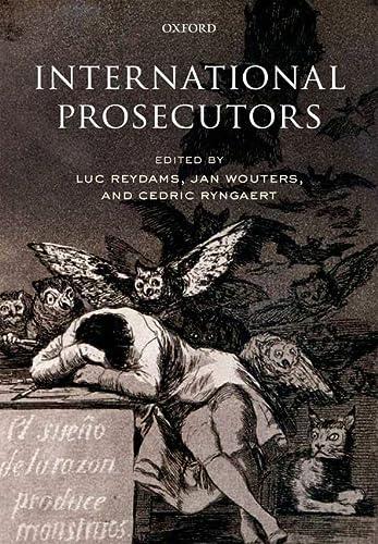 9780199554294: International Prosecutors