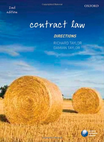 9780199554393: Contract Law Directions (Directions Series)