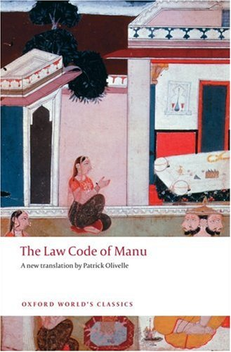 9780199555338: The Law Code of Manu (Oxford World's Classics)
