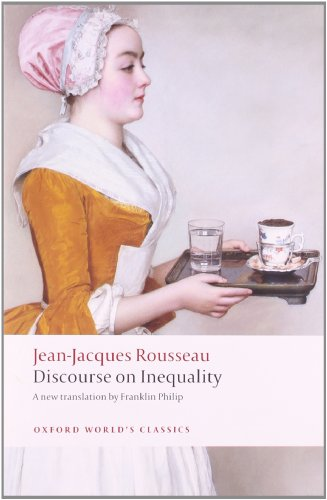 9780199555420: Discourse on the Origin of Inequality (Oxford World's Classics)
