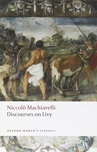 9780199555550: Discourses on Livy (Oxford World's Classics)