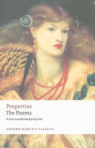 The Poems (Oxford World's Classics): Propertius