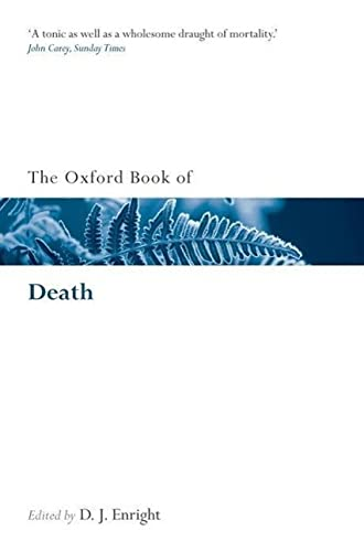 9780199556526: The Oxford Book of Death (Oxford Books of Prose & Verse)