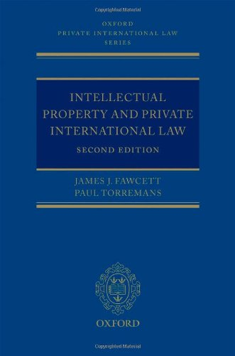 9780199556588: Intellectual Property and Private International Law (Oxford Private International Law Series)