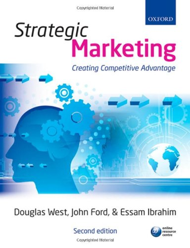 9780199556601: Strategic Marketing: Creating Competitive Advantage