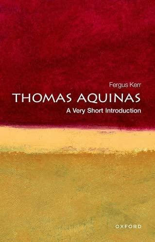 9780199556649: Thomas Aquinas: A Very Short Introduction