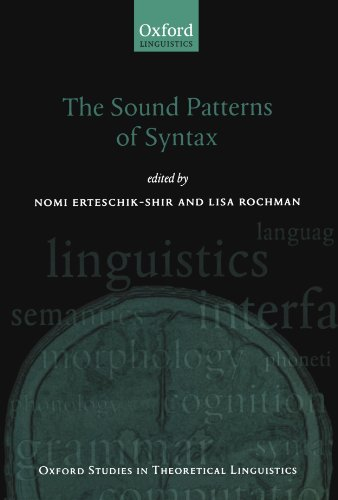 9780199556878: The Sound Patterns of Syntax (Oxford Studies in Theoretical Linguistics)
