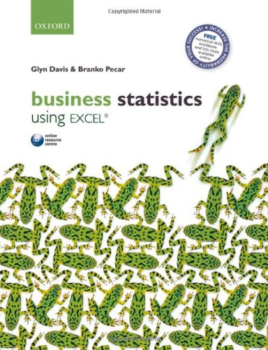 9780199556892: Business Statistics Using Excel