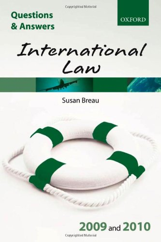 9780199556908: Q & A International Law 2009 and 2010 (Blackstone's Law Questions and Answers)