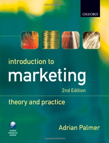 9780199557448: Introduction to Marketing: Theory and Practice