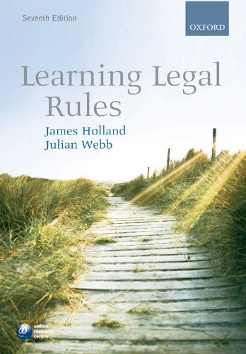 9780199557745: Learning Legal Rules