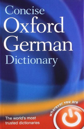 9780199558100: Concise Oxford German Dictionary