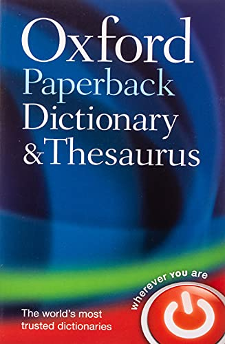 9780199558469: Oxford Paperback Dictionary & Thesaurus