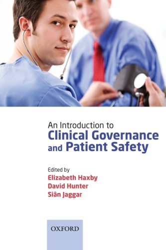 9780199558612: An Introduction to Clinical Governance and Patient Safety
