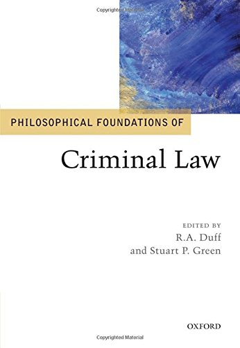 9780199559152: Philosophical Foundations of Criminal Law (Philosophical Foundations of Law)