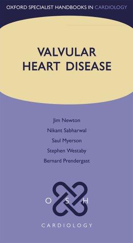 9780199559237: Valvular Heart Disease (Oxford Specialist Handbooks in Cardiology)
