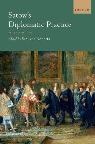 9780199559275: Satow's Diplomatic Practice