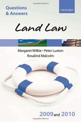 9780199559534: Q&A: Land Law 2009 and 2010