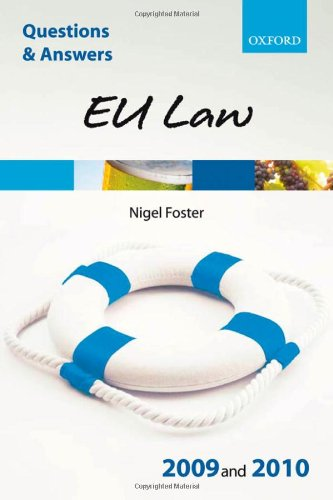 9780199559565: Q&A: EU Law 2009 and 2010