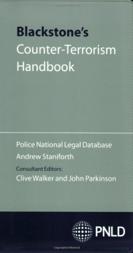 9780199559800: Blackstone's Counter-Terrorism Handbook