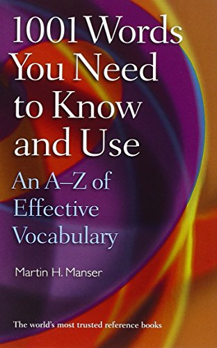 9780199560059: 1001 Words You Need To Know and Use: An A-Z of Effective Vocabulary