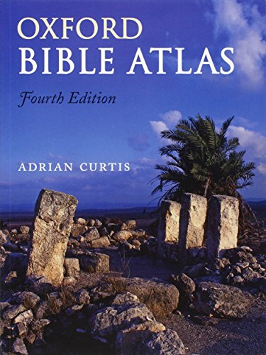 9780199560462: Oxford Bible Atlas