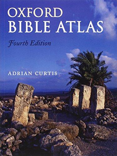 9780199560462: Oxford Bible Atlas