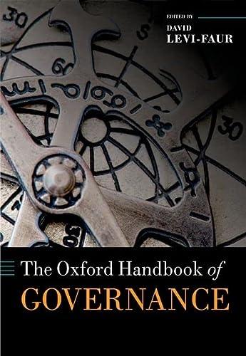 9780199560530: The Oxford Handbook of Governance