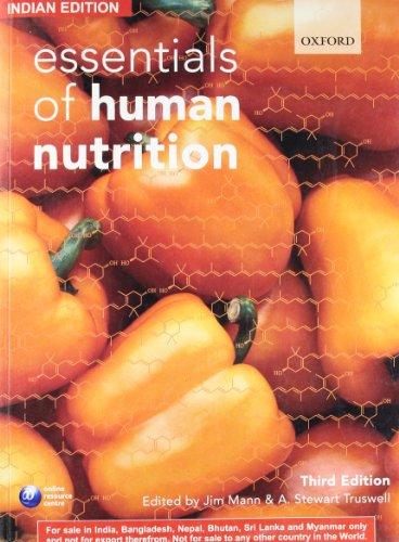 9780199560578: Essentials of Human Nutrition (Edn 3) By Jim Mann, Stewart Truswell