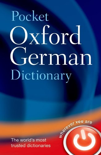 9780199560769: Pocket Oxford German Dictionary