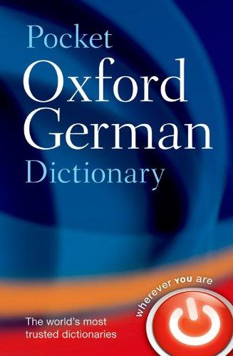 9780199560769: Pocket Oxford German Dictionary