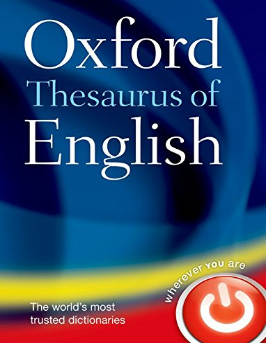 9780199560813: Oxford Thesaurus of English.