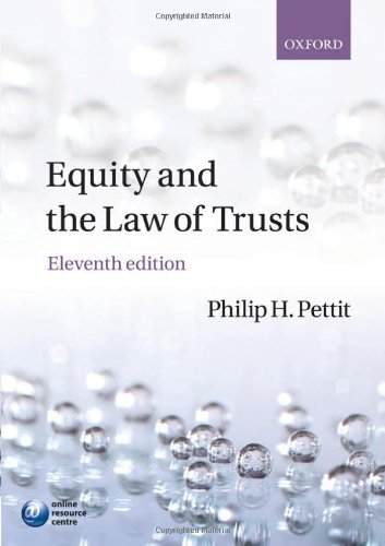 9780199561025: Equity & the Law of Trusts