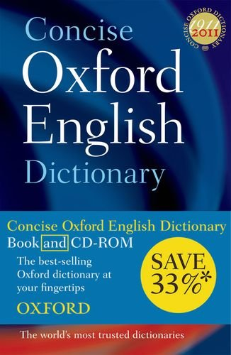 9780199561056: Concise Oxford English Dictionary: Dictionary and CD-ROM set, 11th edition, revised 2009