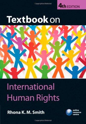 9780199561186: Textbook on International Human Rights