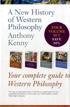 9780199561407: A New History of Western Philosophy: Complete Four-Volume Set