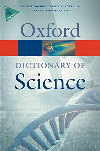 9780199561469: A Dictionary of Science (Oxford Quick Reference)