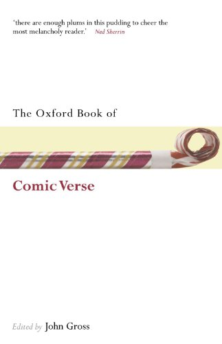 9780199561612: The Oxford Book of Comic Verse (Oxford Books of Prose & Verse)