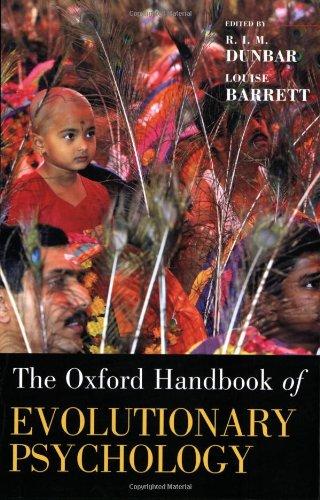 9780199561780: Oxford Handbook of Evolutionary Psychology (Oxford Library of Psychology)