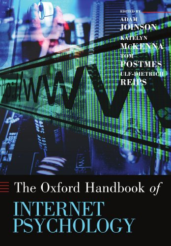 9780199561803: Oxford Handbook of Internet Psychology (Oxford Library of Psychology)