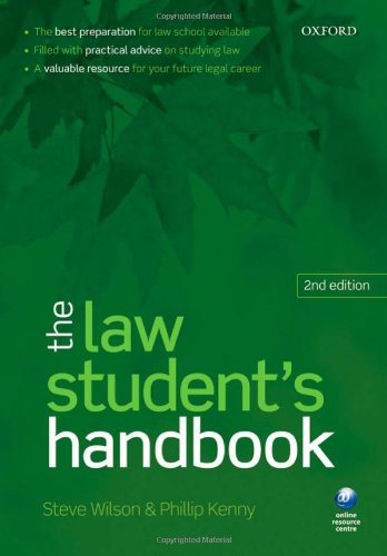 9780199562176: The Law Student's Handbook