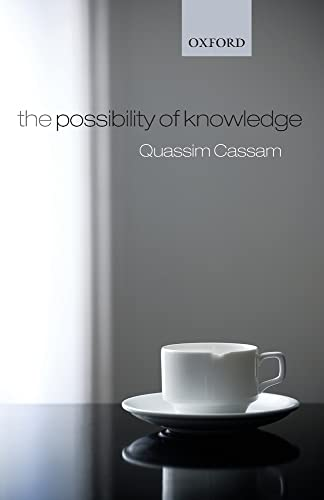 9780199562398: The Possibility of Knowledge