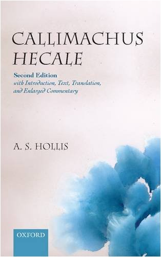 9780199562466: Callimachus Hecale