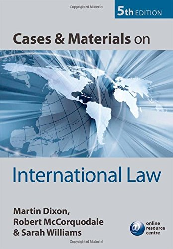 9780199562718: Cases and Materials on International Law