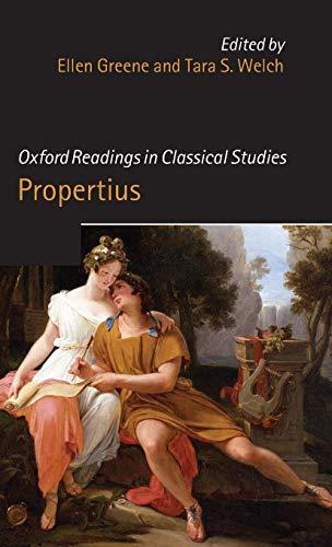 9780199563036: Oxford Readings in Propertius