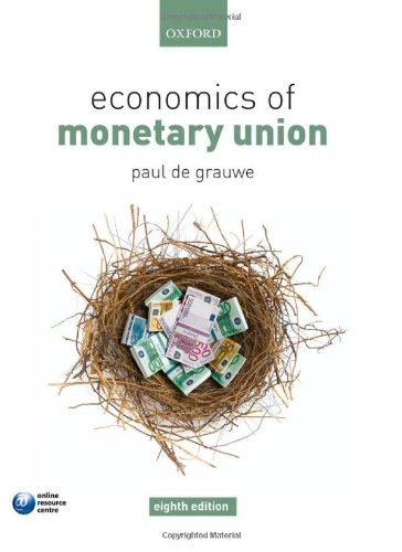 9780199563234: Economics of Monetary Union
