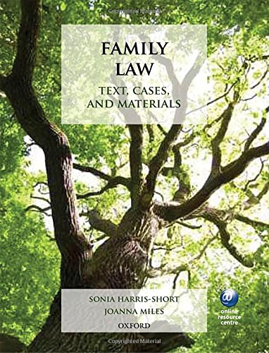Family Law: Text, Cases, and Materials: Sonia Harris-Short; Joanna Miles